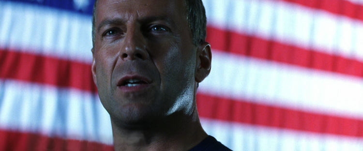 Bruce Willis IS America (Pre-9/11, now it's Kiefer Sutherland)