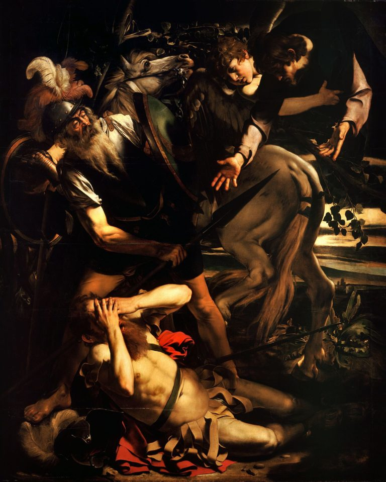 The Conversion of Saint Paul, Caravaggio